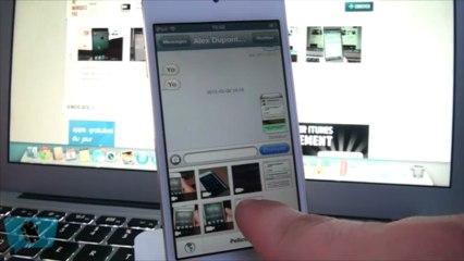 QuickPhoto - Envoyer rapidement vos photos par SMS / iMessage ! (6.0+)