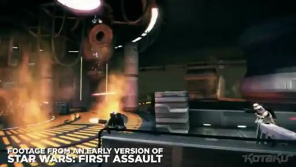 Star Wars First Assault - footage de