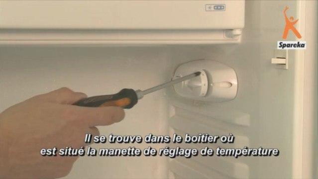 Remplacer le thermostat de votre réfrigérateur