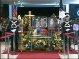 Artistas venezolanos y cubanos rindieron homenaje a Hugo Chávez en capilla ardiente
