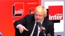 Boris Johnson, maire de Londres, invité de la matinale