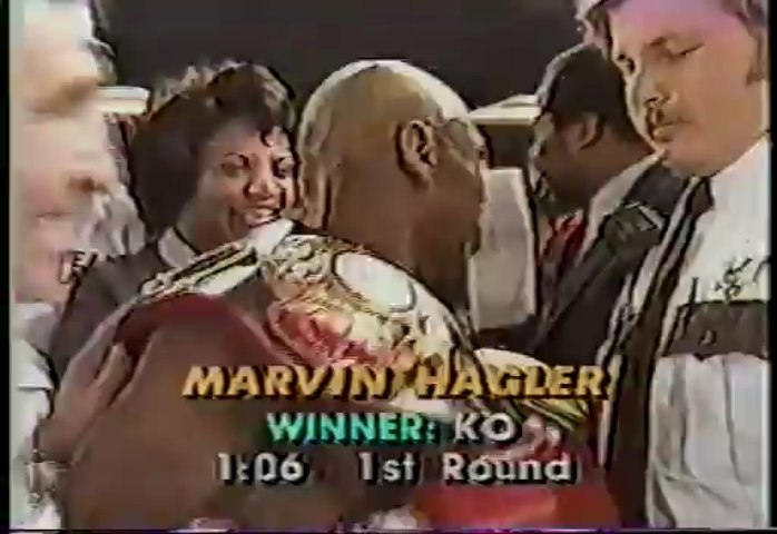 Marvin Hagler vs Caveman Lee 1982-03-07