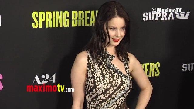 Rachel Korine SPRING BREAKERS LA Premiere