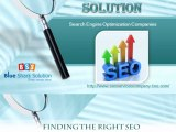 SEO services firm |  Finding the Right SEO Service Provider and Improve Your Website Ranking
