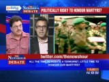 The Newshour Debate: Is it politically risky to honor martyrs? (Part 1 of 2)