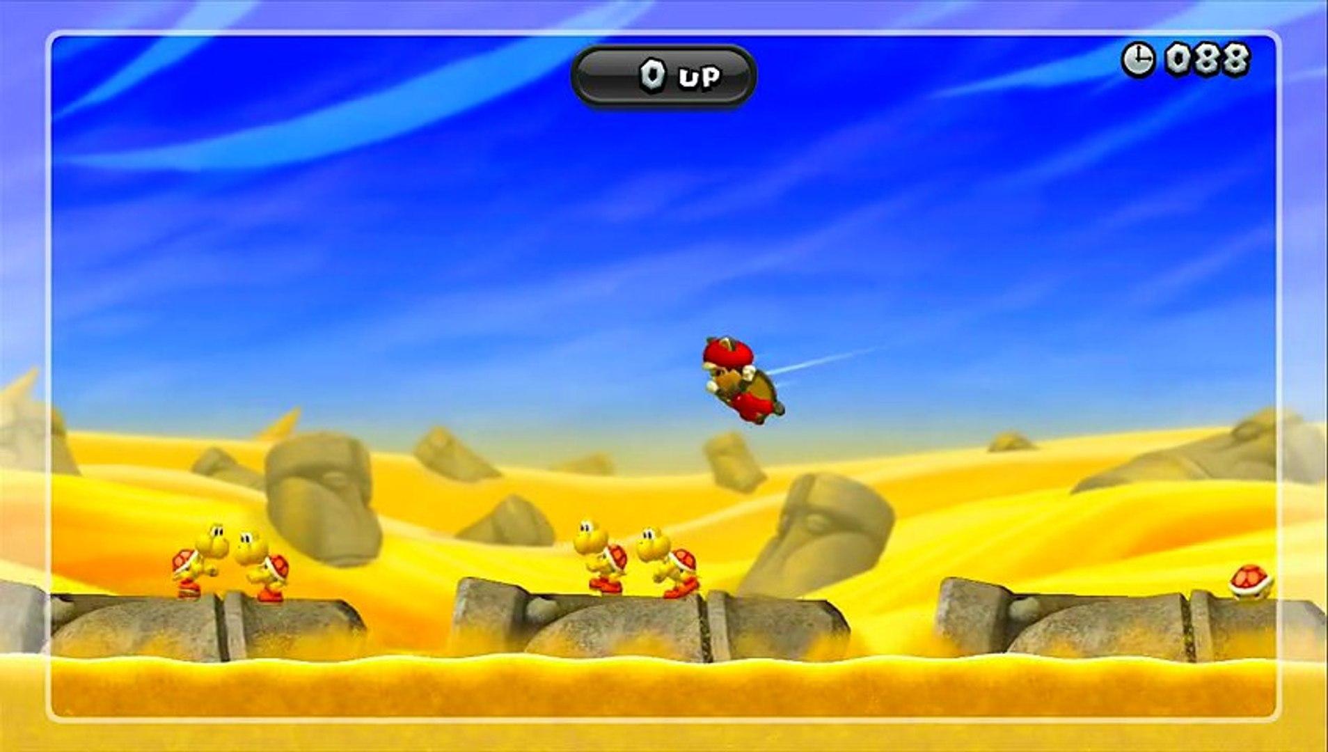 Super Mario Bros Wii U Défi  [ koopa et cabroches ]