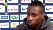 Blaise Matuidi avant d'affronter Saint-Etienne, son ancien club