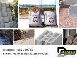 Matériaux de construction Namur 5000 Delvaux matériaux