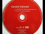 """Coralie Clement  """"Je Ne Sais Pas Pourquoi """"  ( single : album - Salle des pas perdus """" 2002 ) LYRICS"""