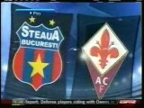 2008 (December 10) Steaua Bucharest (Romania) 0-Fiorentina (Italy) 1 (Champions League)