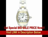 [SPECIAL DISCOUNT] Cartier Women's W62026Y4 Roadster Stainless Steel and 18K Gold Watch