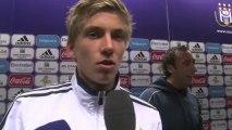Reactions after RSC Anderlecht - Boussu Dour.