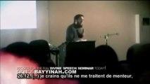 """LA PAROLE DIVINE - """" PROLOGUE 2 """"    EPISODE 03 - 3EME  PARTIE/ 4 - NOUMAN ALI KHAN"""