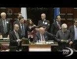 Laura Boldrini eletta presidente della Camera - VideoDoc. Raggiunto quorum della maggioranza assoluta voti, Aula applaude