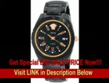 [BEST PRICE] Versace Men's 01AC9D009 SC09 DV One Automatic Ceramic Rose-Gold Plated Black-dial Watch