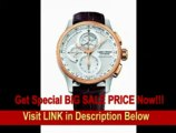 [SPECIAL DISCOUNT] Louis Erard Men's 79220AO31.BAV52 1931 Automatic Chrono Rose Gold Bezel Brown Alligater Leather Watch