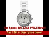 [SPECIAL DISCOUNT] Cartier Women's W10197U2 Must 21 Chronoscaph Stainless Steel and White Rubber Chronograph Watch