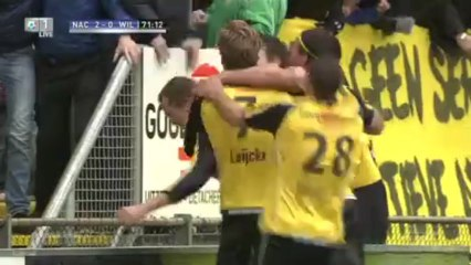 Гол Матс Сеунтьенс · НАК Бреда (Бреда) - Виллем II (Тилбург) - 2:0