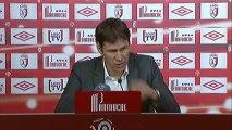 Conférence de presse LOSC Lille - Evian TG FC : Rudi GARCIA (LOSC) - Pascal DUPRAZ (ETG) - saison 2012/2013