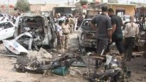 Deadly blasts hit southern Iraq