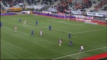 But Djamel BAKAR (23ème) - AS Nancy-Lorraine - OGC Nice (1-0) - saison 2012/2013