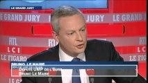 """Le Maire : """"Le pédalo de Hollande tourne en rond depuis trop longtemps"""""""