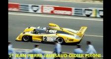 24H du Mans - Le Mans 1978 - Renault Alpine A442B à bord Jean-Pierre Jabouille une tour