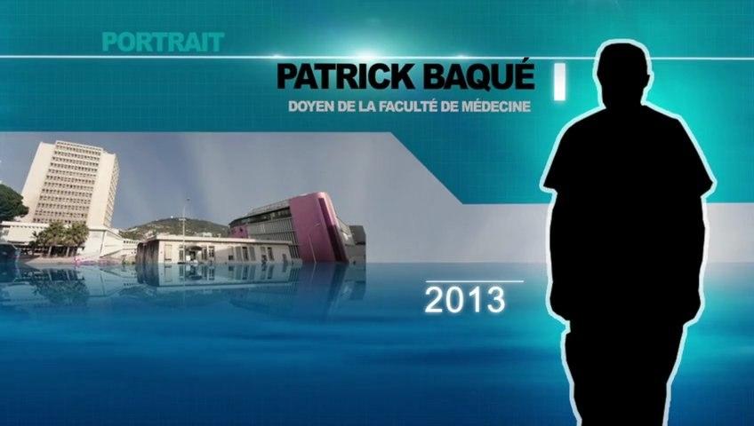 Portrait du Professeur Patrick BAQUÉ.