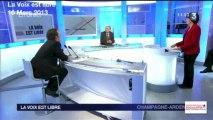 Axe Nord-Sud: Olivier Girardin dans la voix est libre 16 Mars 2013 face à Philippe Adnot
