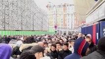 PSG : le Parc des Princes pris d'assaut par les supporters !