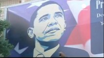 Des Palestiniens protestent contre la venue de Barack Obama
