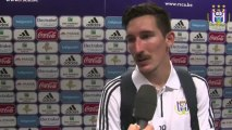 Reactions after RSC Anderlecht - Ekranas (Champions League Qualifying round)