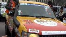 Départ  du Rallye Aïcha des Gazelles 2013 au Trocadéro