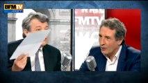 Motion de censure: Borloo attend la réponse d'Ayrault à sa lettre