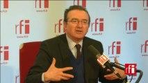 Hervé Mariton, député de la Drôme, délégué général de l'UMP en charge du projet UMP