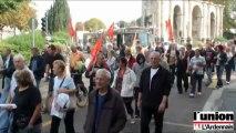 Retraites: les meilleurs slogans de la manifestation rémoise contre la réforme des retraites