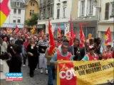 Grève- Manifestation à Troyes