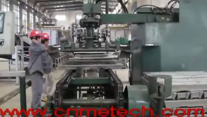 aluminum alloy ingot casting and stacking system or ADC12 aluminum ingot production line