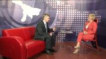 Prezydent Włocławka Andrzej Pałucki w studiu Telewizji Kujawy