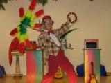 spectacle pour enfant  Malherbes www.spectacle-magie-clown-monsieur-tempo.cm
