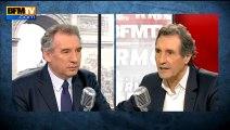 François Bayrou, invité de Bourdin Direct sur BFMTV - 260313