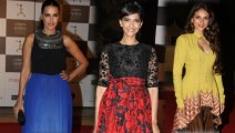 Loreal Femina Women Awards 2013   Sonam Kapoor, Aditi Rao Hyadri, Neha Dhupia