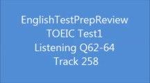 TOEIC Test1 Listening Q62 Track258