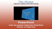 Créer son premier diaporama PowerPoint - Diffuser un diaporama (4/4)
