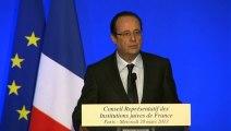 Discours lors du dîner du Conseil Représentatif des Institutions juives de France
