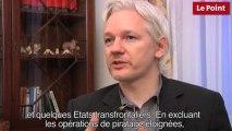 Assange prédit la révolution aux Etats-Unis dans 5 ans.