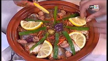 chhiwat choumicha - tajine de poisson merlan aux carottes