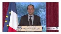 Hollande blague sur le départ de Cahuzac