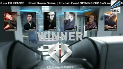 ShowMatch Ghost Recon Online : Team-Agro vs FCT