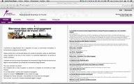 Les services de l'ENT de L'université de Cergy-Pontoise